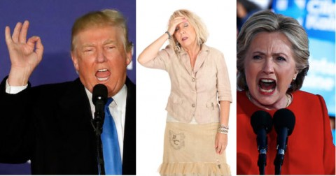 Highly Sensitive Persons and the US Election